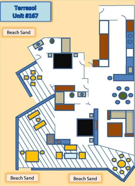 Terrasol Unit 167 Floor Plan