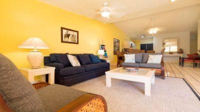Living Room Terrasol Condo Rental