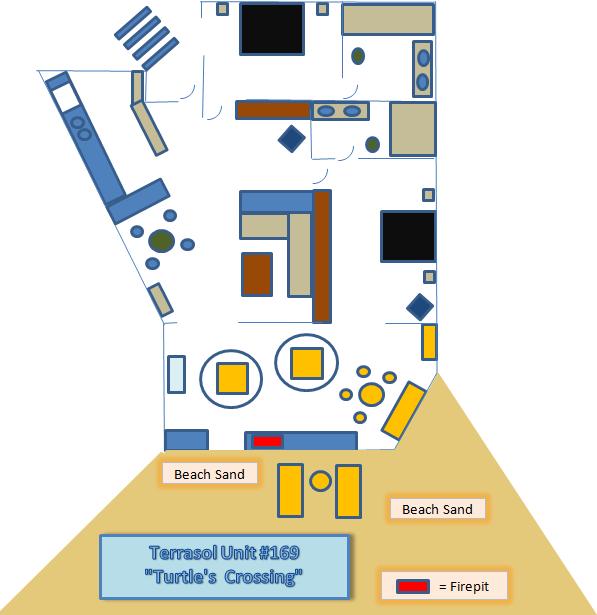 Terrasol Unit 169 Floor Plan